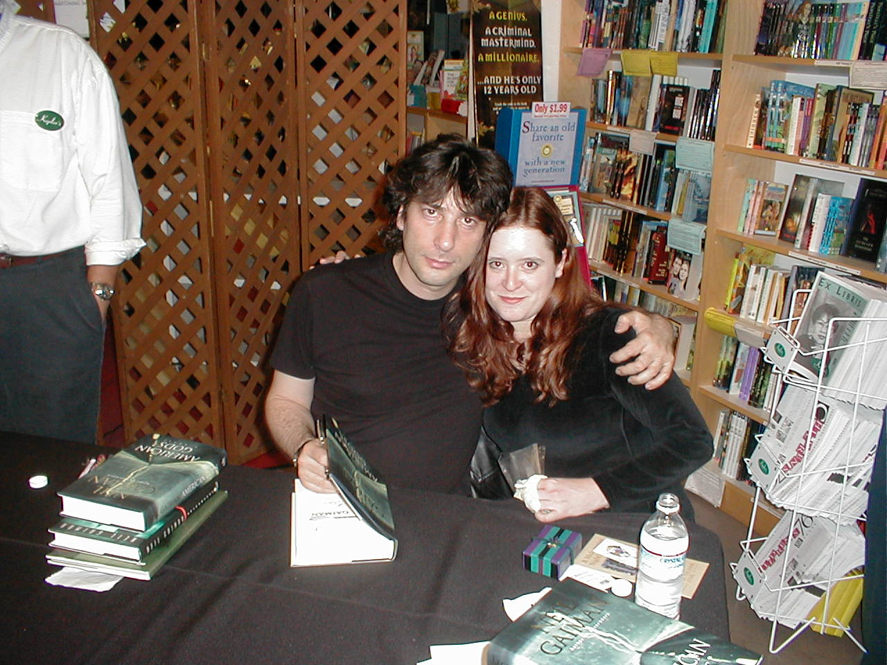 Neil Gaiman touched me!  :)